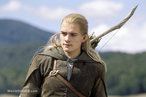 The Lord of the Rings: The Two Towers - Publicity still of Orlando Bloom