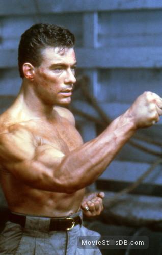 Double Impact - Publicity still of Jean-Claude Van Damme