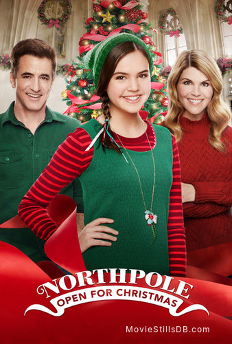 Northpole Open For Christmas.Northpole Open For Christmas Promotional Art With Lori