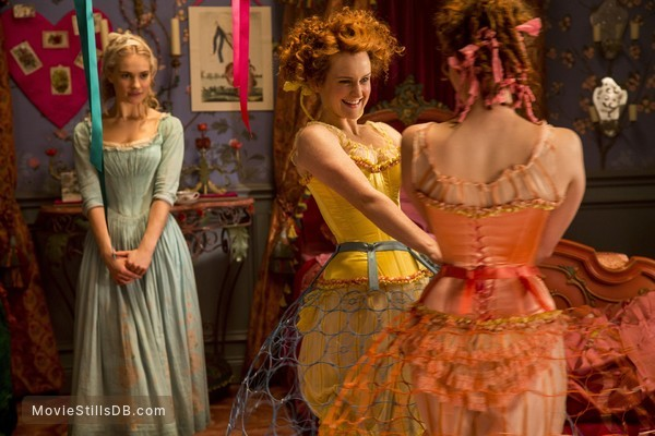Cinderella - Publicity still of Lily James & Sophie McShera