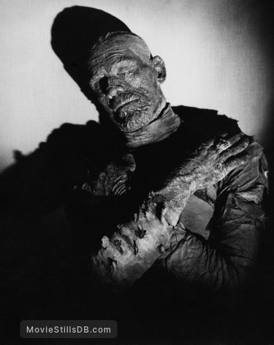 The Mummy - Promo shot of Boris Karloff