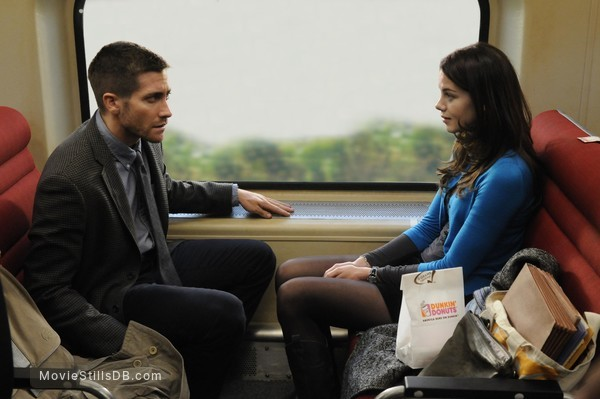 Source Code - Publicity still of Michelle Monaghan & Jake Gyllenhaal