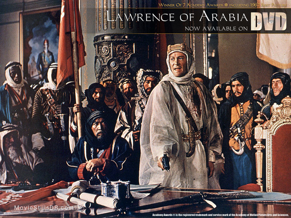 Lawrence of Arabia - Wallpaper with Anthony Quinn, Peter O'Toole & Alec Guinness