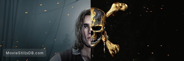 Pirates of the Caribbean: Dead Men Tell No Tales - Promotional art with Brenton Thwaites