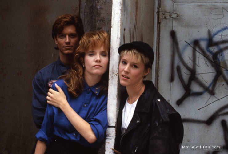 Some Kind of Wonderful - Promo shot of Eric Stoltz, Lea Thompson & Mary Stuart Masterson