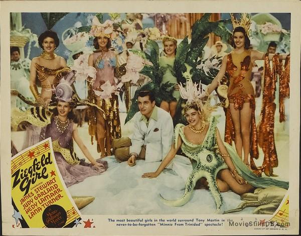 Ziegfeld Girl - Lobby card with Tony Martin