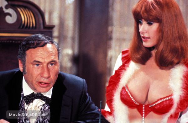 Blazing Saddles - Publicity still of Mel Brooks & Robyn Hilton