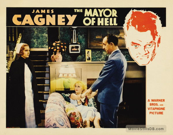 The Mayor of Hell - Lobby card with Allen Jenkins, Madge Evans & Sheila Terry
