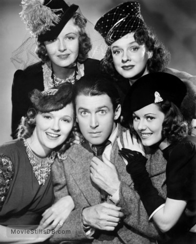 Ziegfeld Girl - Promo shot of James Stewart
