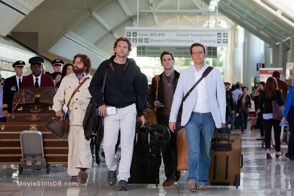 The Hangover Part II - Publicity still of Bradley Cooper, Zach Galifianakis, Justin Bartha & Ed Helms