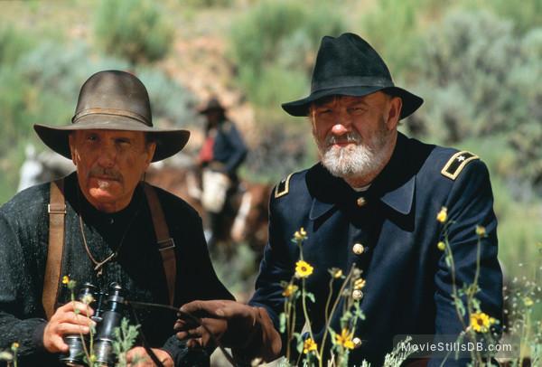 Geronimo: An American Legend - Publicity still of Robert Duvall & Gene Hackman