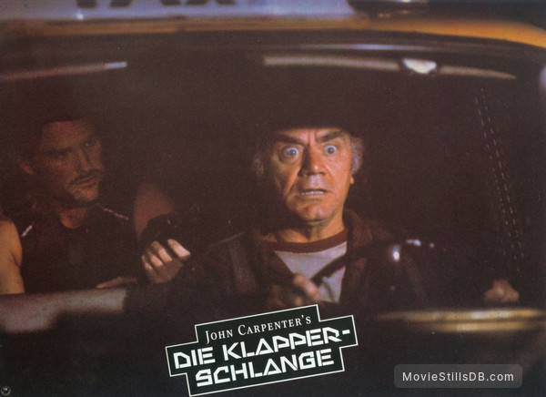 Escape From New York - Lobby card with Kurt Russell & Ernest Borgnine