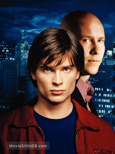 Smallville - Promotional art with Tom Welling & Michael Rosenbaum