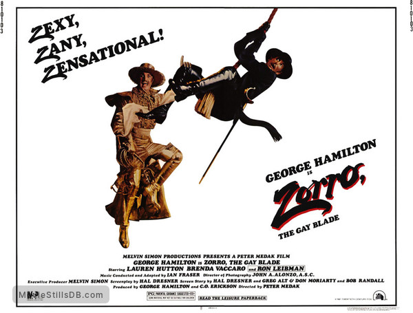 Zorro The Gay Blade Movie 90