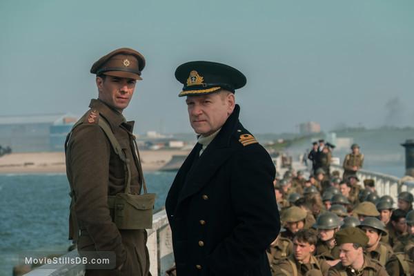 Dunkirk - Publicity still of Kenneth Branagh & James D'Arcy