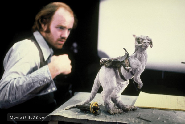 Star Wars: Episode V - The Empire Strikes Back - Behind the scenes photo of Phil Tippett