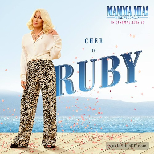 Mamma Mia! Here We Go Again - Promo shot of Cher