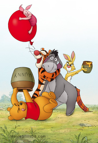 Winnie the Pooh - Promotional art