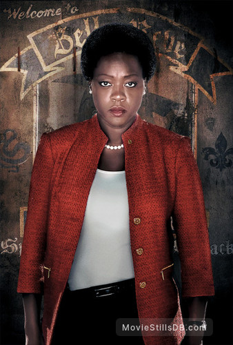 Suicide Squad - Promotional art with Viola Davis