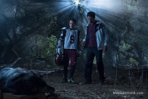 Teen Wolf - Publicity still of Tyler Posey & Dylan Sprayberry