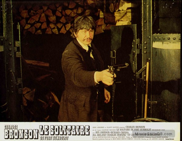 Breakheart Pass - Lobby card with Charles Bronson