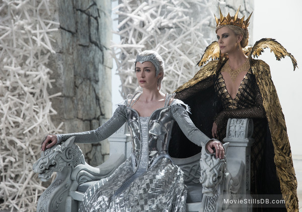 The Huntsman Winter's War - Publicity still of Charlize Theron & Emily Blunt