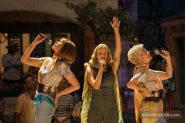 Mamma Mia! Here We Go Again - Publicity still of Christine Baranski, Amanda Seyfried & Julie Waters
