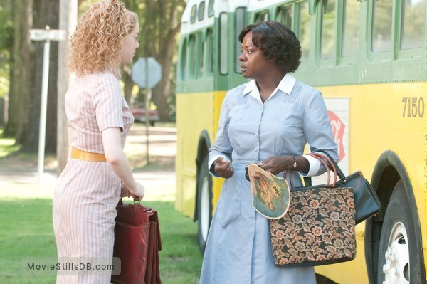 The Help - Publicity still of Emma Stone & Viola Davis