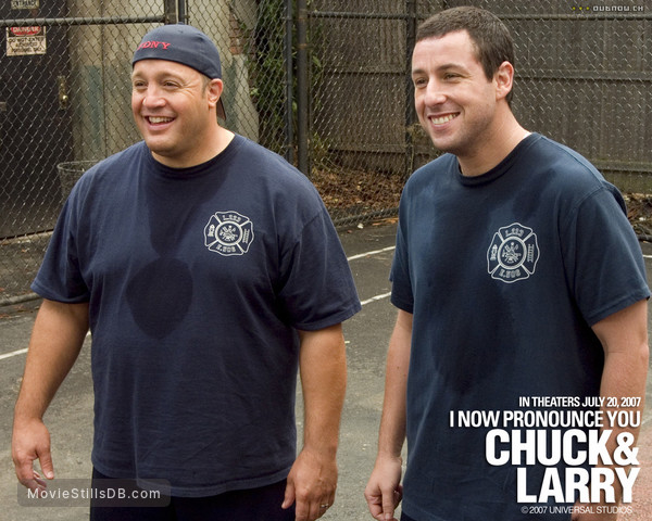 I Now Pronounce You Chuck & Larry - Wallpaper with Adam Sandler & Kevin James