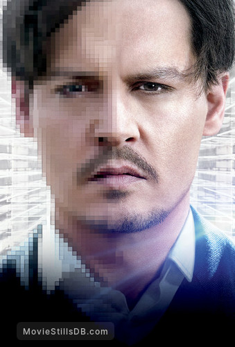 Transcendence - Promotional art with Johnny Depp