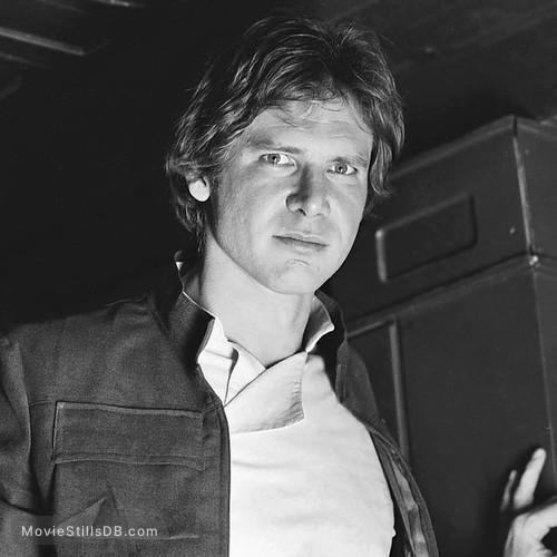 Star Wars: Episode V - The Empire Strikes Back - Promo shot of Harrison Ford