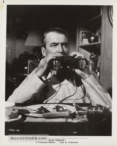 Rear Window - Promo shot of James Stewart