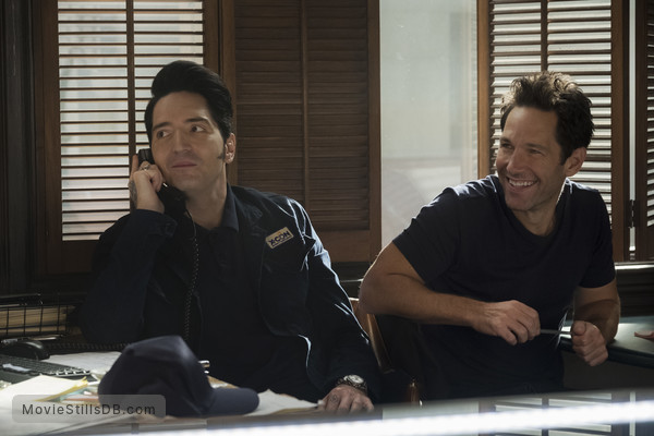 Ant-Man and the Wasp - Publicity still of Paul Rudd & David Dastmalchian