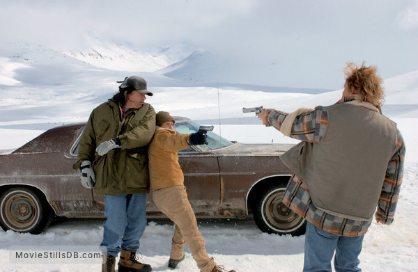 The Big White - Publicity still of Woody Harrelson, W Earl Brown & Tim Blake Nelson