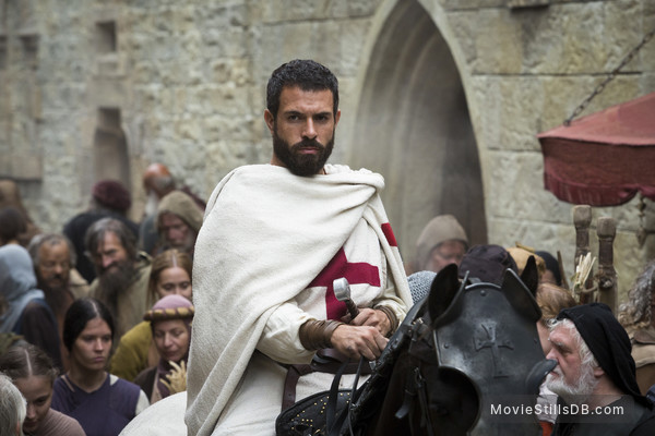 Knightfall - Publicity still of Tom Cullen