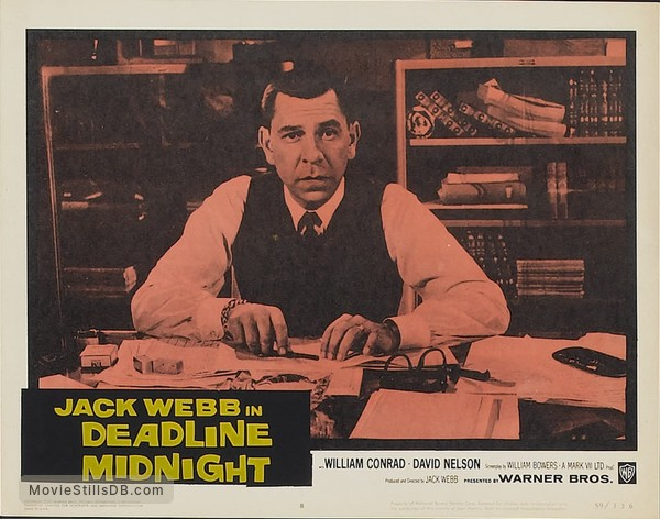 -30- - Lobby card with Jack Webb