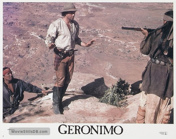Geronimo: An American Legend - Lobby card
