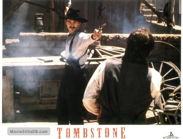 Tombstone - Lobby card with Val Kilmer & Robert John Burke