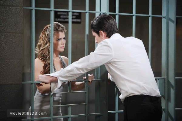 Days of Our Lives - Publicity still of Alison Sweeney & James Scott