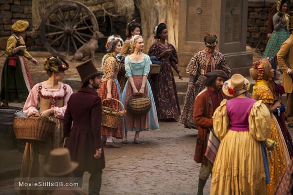 Cinderella - Publicity still of Lily James & Sophie McShera