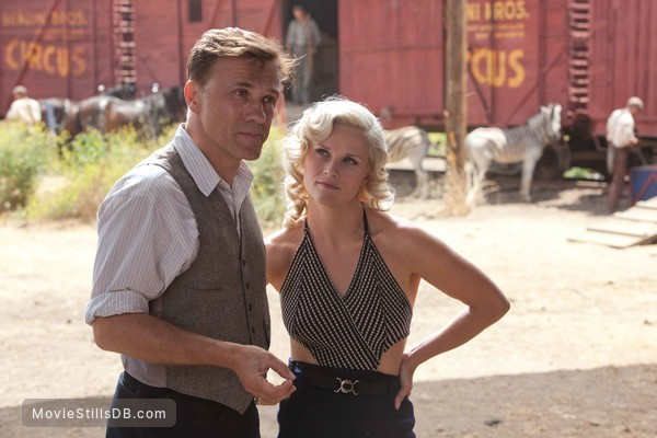 Water for Elephants - Publicity still of Reese Witherspoon & Christoph Waltz
