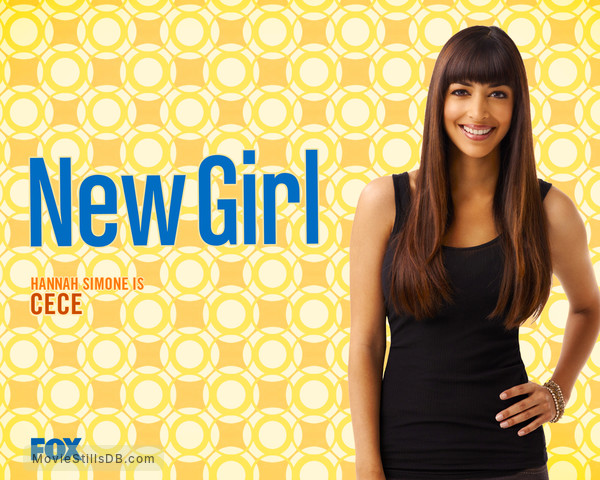 New Girl - Wallpaper with Hannah Simone