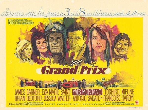 Grand Prix - Lobby card