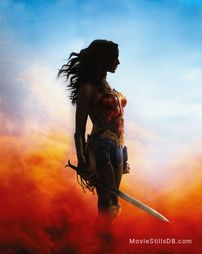 Wonder Woman - Promotional art with Gal Gadot
