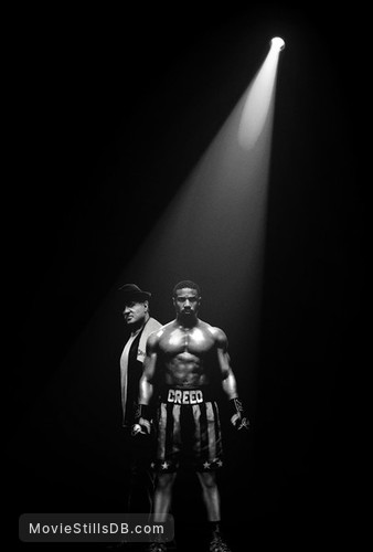 Creed II - Promotional art with Sylvester Stallone & Michael B. Jordan