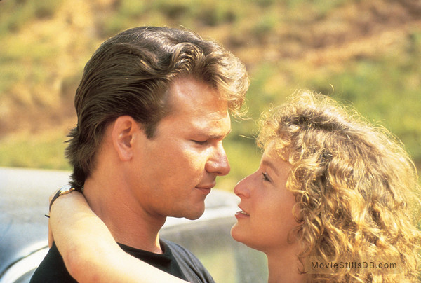 Dirty Dancing - Publicity still of Patrick Swayze & Jennifer Grey