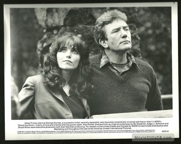 Shoot the Moon - Publicity still of Karen Allen & Albert Finney