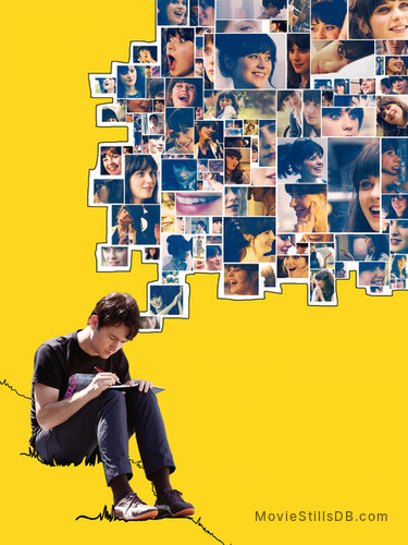 (500) Days of Summer - Promotional art with Joseph Gordon-Levitt & Zooey Deschanel