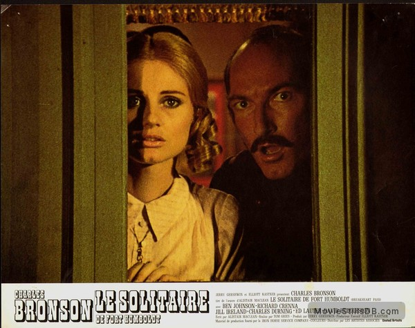 Breakheart Pass - Lobby card with Ed Lauter & Jill Ireland