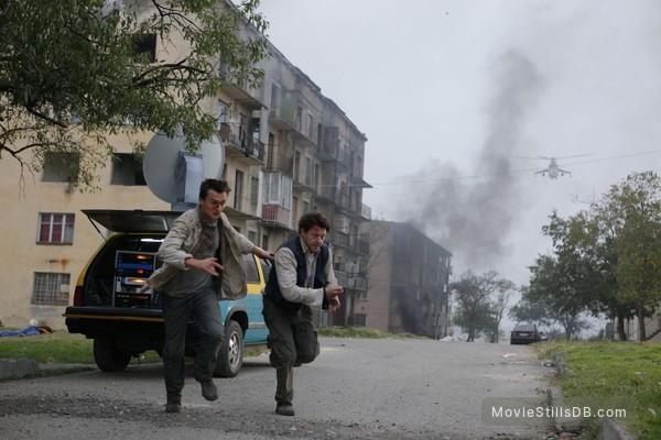5 Days of War - Publicity still of Rupert Friend & Richard Coyle